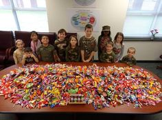 Elementary students sacrifice Halloween candy for military troops | News  - WCTI NewsChannel 12
