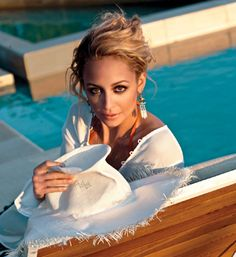 Nicole Richie in the lastest edition of Glamour magazine