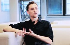 14 Reasons Why Tom Hiddleston Probably Isn't Real | He's beautiful O.O I could watch this over and over