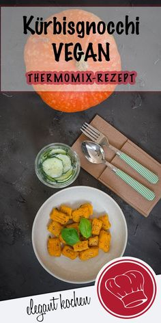 Pumpkin Gnocchi VEGAN from the Thermomix .- Kürbisgnocchi VEGAN aus dem Thermomix … Pumpkin gnocchi VEGAN from the Thermomix # Kürbisrezeptevegan # Pumpkin gnocchi recipe - Gnocchi Vegan, Gnocchi Recipes, Raw Food Recipes, Food Network Recipes, Food Processor Recipes, Vegan Appetizers, Appetizers For Party, Vegan Thermomix, Pumpkin Gnocchi