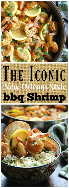 new orléans style bbq shrimp recipe iconic new orleans style bbq ...