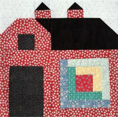 A Farm Wife's Journal: 1st Quilty Barn Block.  Bee in my Bonnet Quilty Barn Along.