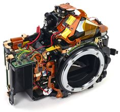 Nikon D600 teardown