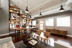 office space of graphic design studio Mattson Creative located in Southern California