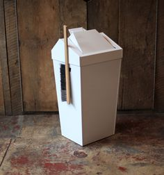I want this trashcan. Designed and made in the U.S.A.