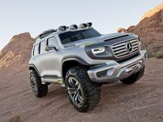 Le 4x4 de Mercedes qui carbure à l'hydrogène