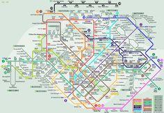Singapore City Subway