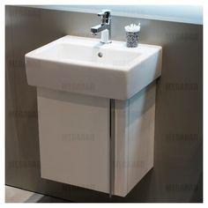 Duravit Vero Waschtischunterschrank für Vero Handwaschbecken 45 cm, Türanschlag links VE6271L2222 - MEGABAD