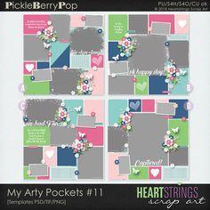 My Arty Pockets #11 By HeartStrings Scrap Art