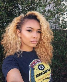 Blonde Wigs Lace Hair Brown Wigs Blonde Bob Hair Anna Wig Toner For Yellow Orange Hair Afro Blonde, Blonde Curly Hair, Golden Blonde Hair, Blonde Natural Hair, Blonde Bob Hairstyles, Frontal Hairstyles, Wig Hairstyles, Tie And Dye Blonde, Curly Hair Styles
