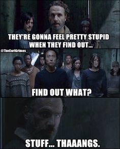 The Walking Dead TWD. Stuff Thangs. Rick Grimes.