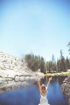 California Mountain Wedding - Rustic Wedding Chic