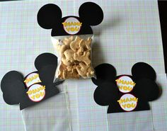 Mickey Mouse Ears  animal cookies