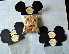Cute Mickey treat bags