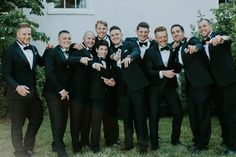 How handsome are these guys in their black tuxes? Country Estate, Ivory Wedding, Black Gold, Wedding Planning, June, Handsome, Elegant, Boys, Beautiful