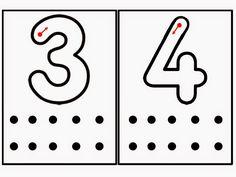 Descripción. Direccionalidad de los números