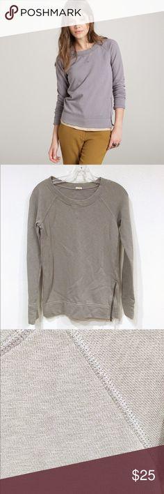 J. Crew Zip-Side Sweatshirt Excellent condition. No trades. 1009 J. Crew Tops Sweatshirts & Hoodies