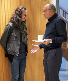 Geddy Lee and Pete Townshend - 10 November 2014