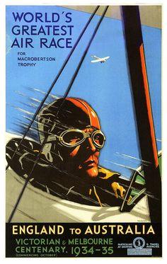 World's Greatest Air Race, 1934, Percy Tromf | by paul.malon