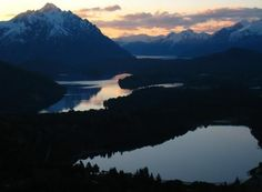 """Cerro Campanario sunset in Patagonia from """"Living in Bariloche, Argentina: The Mystique and Beauty of Patagonia Seduces."""""""