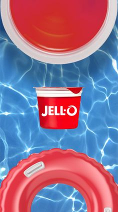 Dive into a little fun this summer with JELL-O Gelatin Snacks. Made with NO high fructose corn syrup.