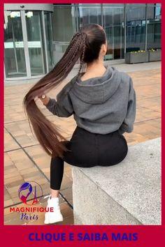 Long Hair Ponytail, Easy Hairstyles For Long Hair, Ponytail Hairstyles, Cool Hairstyles, Long Layered Hair, Long Hair Cuts, Long Hair Styles, Long Silky Hair, Super Long Hair