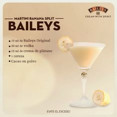 25 drinks recipes with Baileys liquor that will make your mouth water - Baileys Liquor, Licor Baileys, Liquor Drinks, Cocktail Drinks, Coffee Drinks, Cocktail Recipes, Alcoholic Drinks, Cocktails, Martinis
