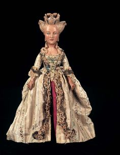 French court doll of Marie Antoinette  Possessions of a lady - an 18th century obsession: French court dolls