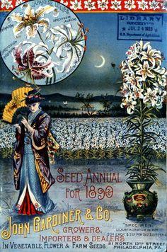 John Gardiner seed catalogue, 1890