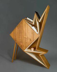 Coup de cœur : Des meubles géométriques par Aljoud Lootah Design Studio