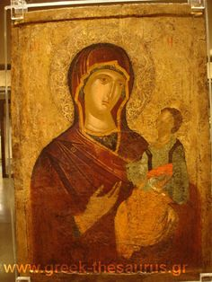 Byzantine Icons-Virgin Hodegetria