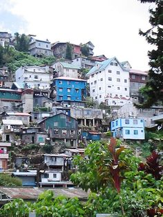Worked in Baguio for a few weeks....beautiful place in the mountains in the Philippines.