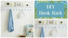 Decorative Shelf With Hooks