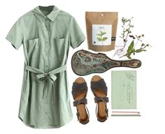 """""""Green"""" by gretamariaa ❤ liked on Polyvore featuring Minimarket and vintage"""