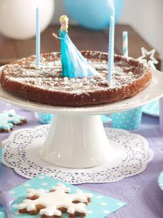 gateau anniversaire reine des neiges