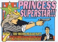 Princess Superstar!!! Frank Kozik Limited Edition