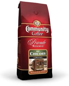 Community Coffee Private Reserve Ground 100% Pure Chicory, 12 Ounce (Pack of 6) - http://teacoffeestore.com/community-coffee-private-reserve-ground-100-pure-chicory-12-ounce-pack-of-6/