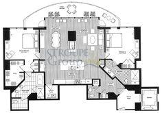 2 Bedroom/2.5 Bathroom Total Living Sq. Ft. 2,268 Interior Sq. Ft. 1,920 Exterior Sq. Ft. 283