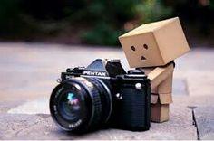 Figur mit kamera