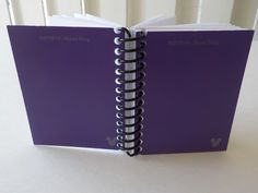 Mini Notebook, 3.50 X 2.75, 100 Sheets, Disney, Paint Sample Cards, Upcycled, Gift Ideas, Blank Book, Small Notebook, Handmade, Purple by LeeEmporium on Etsy