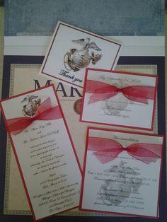 Wedding Invitation Templates Red