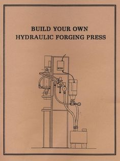 1000+ images about Forge press on Pinterest | Log splitter, Miller welding and How to book