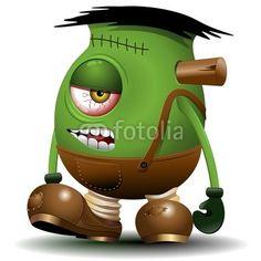 Frankenstein Monster Cartoon