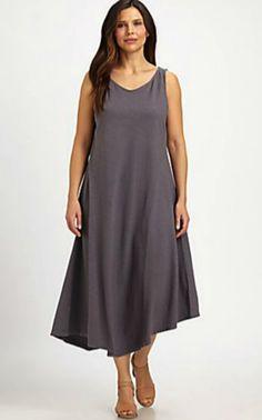 Long Organic Linen Cardigan | Eileen fisher