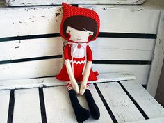 cute little red doll!