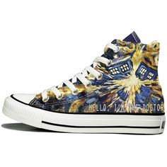 Doctor Who Converse found on Polyvore