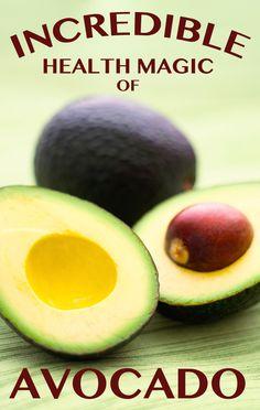 Top 5 Natural Health Benefits of Avocados #Natural_Remedies #NaturalHealth #HealthCare