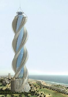 Diamond Tower Jeddah, Saudi Arabia by Al-Masarat For Counstruction Co, Ltd