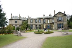 """Lotherton Hall, Aberford, near Leeds, was used for """"The Illustrious Client"""" (1991)"""