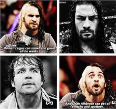 wonder how many times @WWERollins practiced these facial expressions! A+ for Rollins. pic.twitter.com/WRH7Ps2PMG